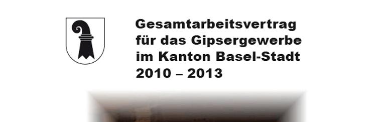 Parit tische kommission f r das gipsergewerbe im kanton for Gesamtarbeitsvertrag innendekorateur